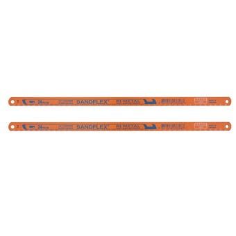 Bahco Bi-Metal Hacksaw Blade 18TPI 300mm -  2 Pack