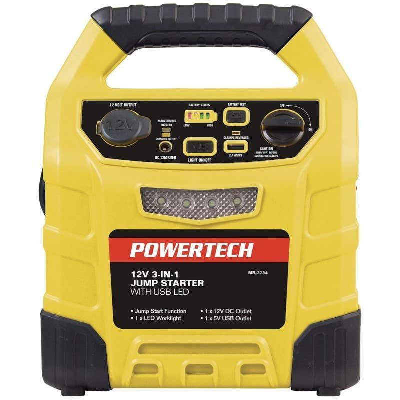 Powertech 3 in 1 12V Jump Starter