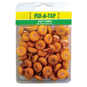 FIX-A-TAP 13mm Soft Turn Tap Valve - 100 Pack