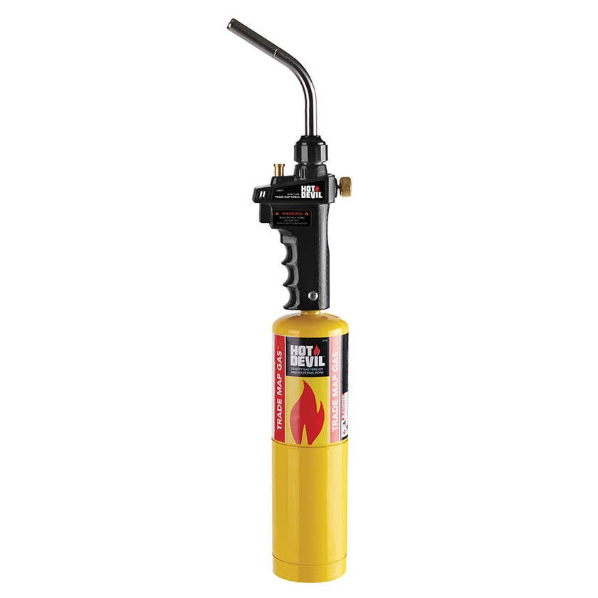 Hot Devil Trade Map Torch Kit with Swirl Flame