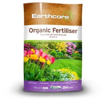 Earthcore Organic Fertiliser 2kg