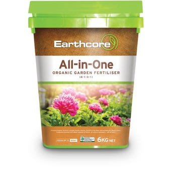 Earthcore All-in-One Organic Garden Fertiliser 6kg