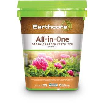 Earthcore All-in-One Organic Garden Fertiliser 6kg