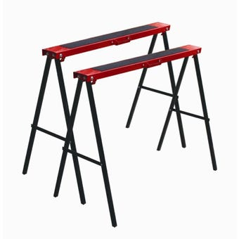 Buy Right Metal Saw Horse - 2 Pack