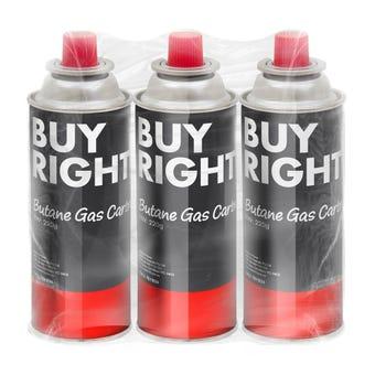 Buy Right Butane Cartridge - 3 Pack
