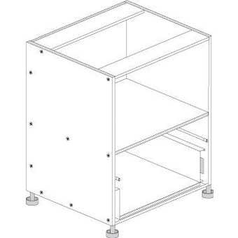 Principal Microwave 1 Drawer Cabinet 600mm