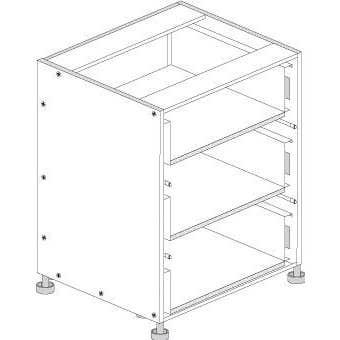 Principal Drawer Cabinet 800mm 3 Drawers