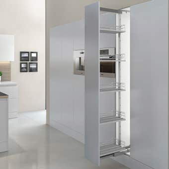 Principal Sorrento Pull Out Pantry Door 300mm