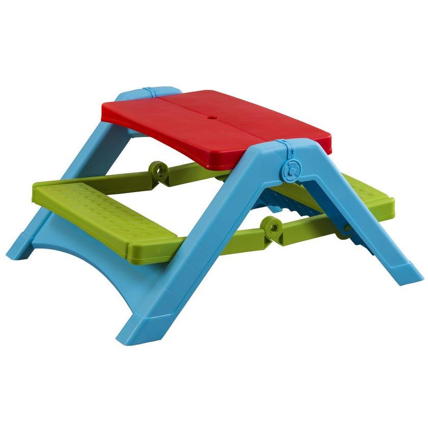 Kids Folding Plastic Picnic Table
