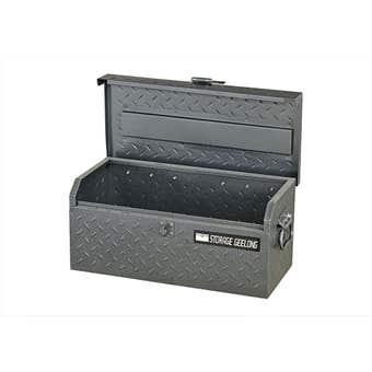 Storage Geelong Flush Lid Toolbox Diamond Plate 480mm