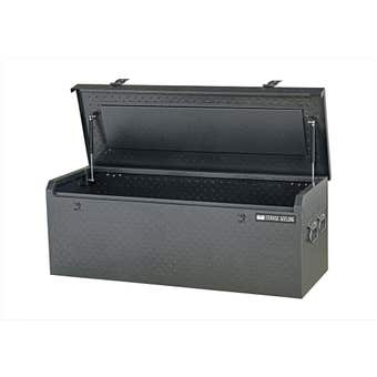 Storage Geelong Diamond Plate Flush Lid Toolbox 1220mm