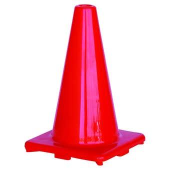 Traffic Cone Hi-Vis Orange 300mm