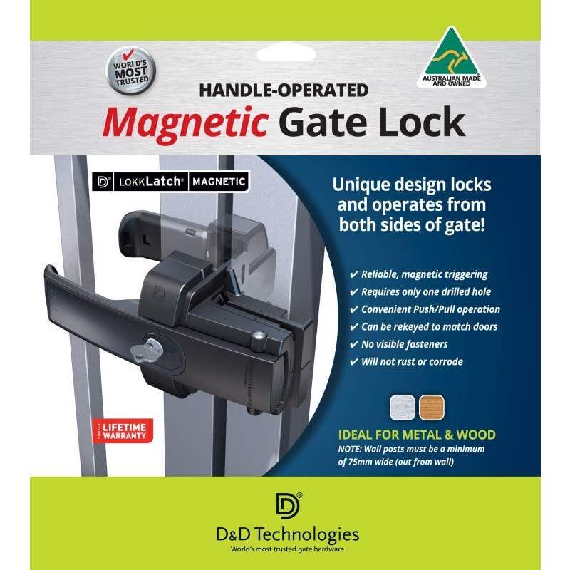 LokkLatch Magnetic Gate Lock