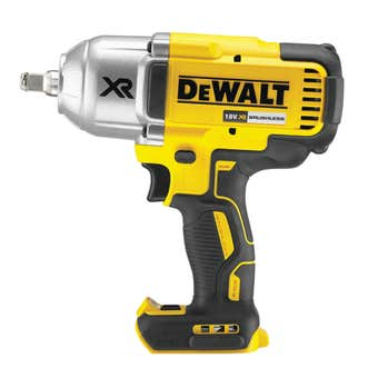 DeWalt 18V XR Li-ion Cordless Brushless High Torque Impact Wrench with Friction Ring Skin