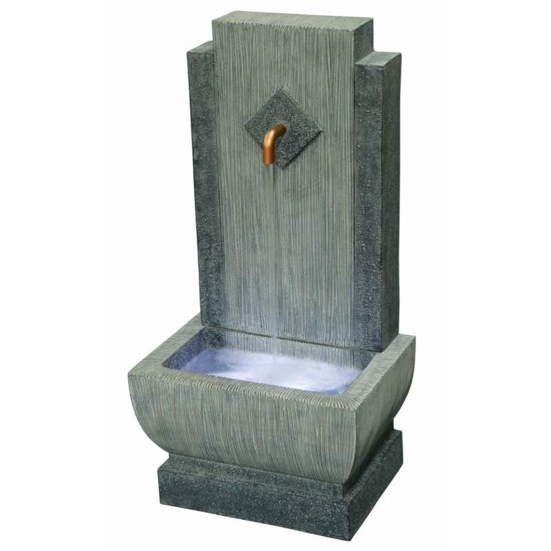 Takasho Becco Water Feature with Light