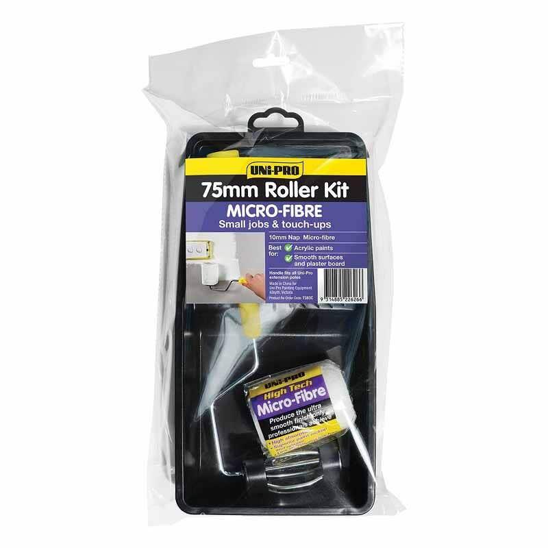 Uni-Pro Micro-Fibre Roller Kit 75mm
