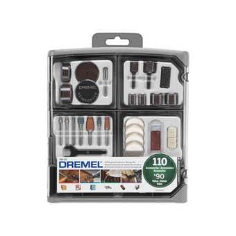 Dremel Accessory Kit - 110 Piece