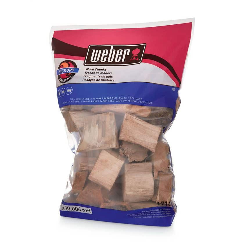 Weber Hickory Chunks 1.8kg