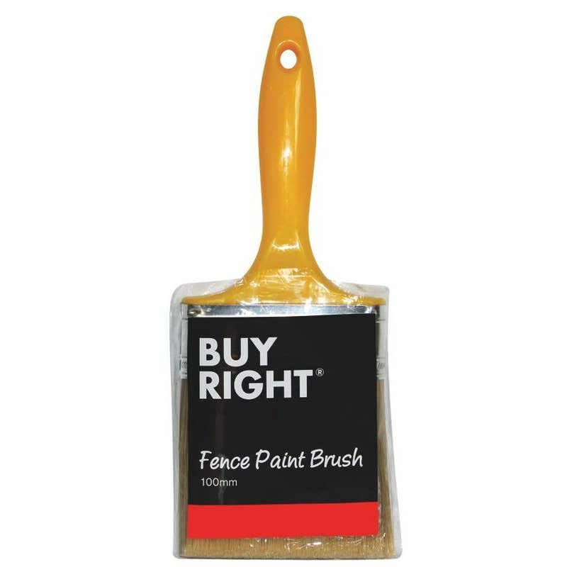 Buy Right Fence Paint Brush 100mm