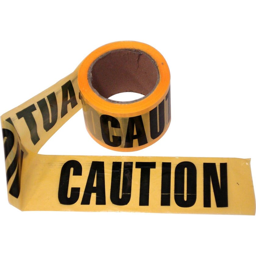 Caution Tape 75mm x 100m