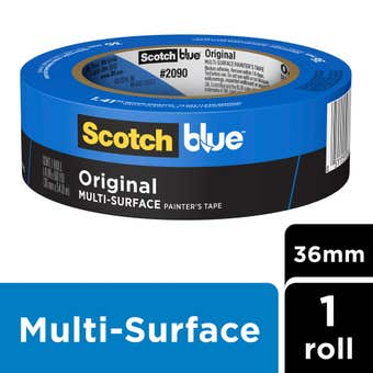 Scotch Blue Original Multi-Surface Masking Tape 36mm x 55m