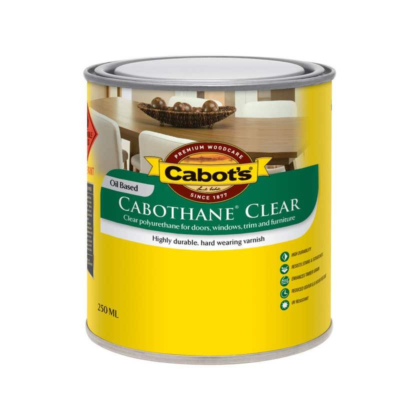 Cabot's Cabothane Clear Oil Based Matt 250ml
