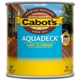 Cabot's Aquadeck Jarrah 250ml