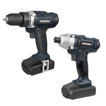 Rockwell 18V Drill and Impact Driver 2 Piece Kit