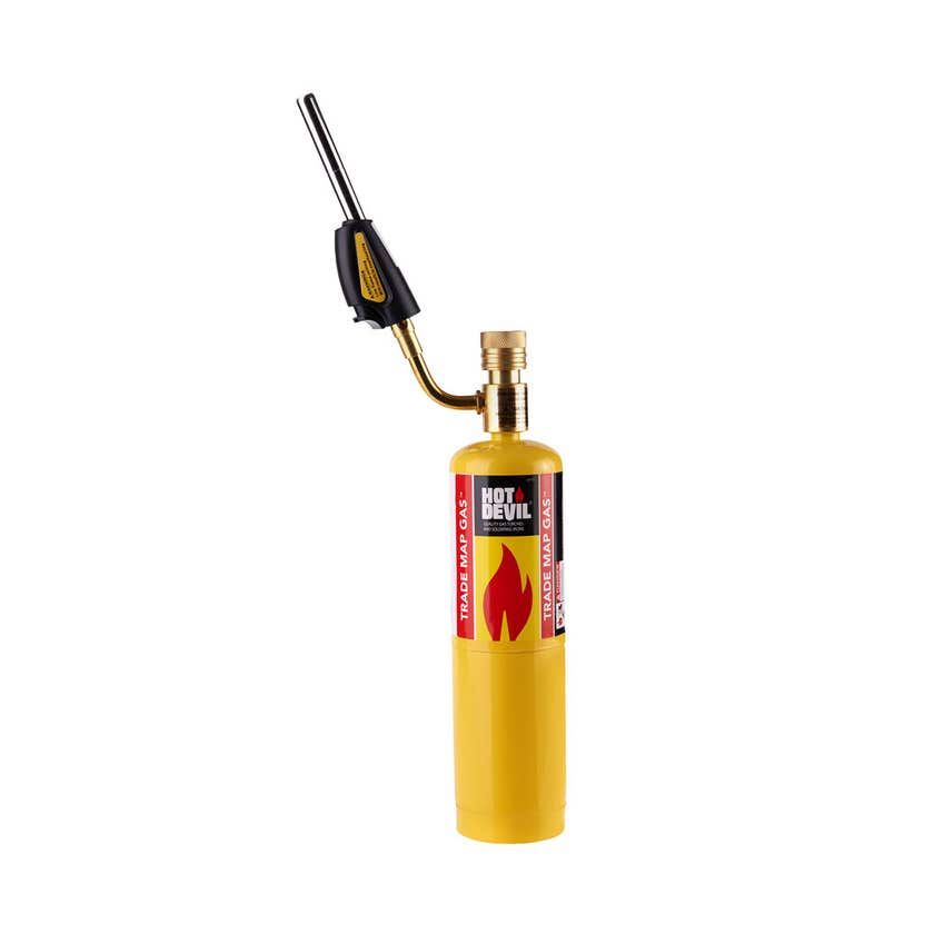 Hot Devil Professional Trade Map Torch with Swivel Head