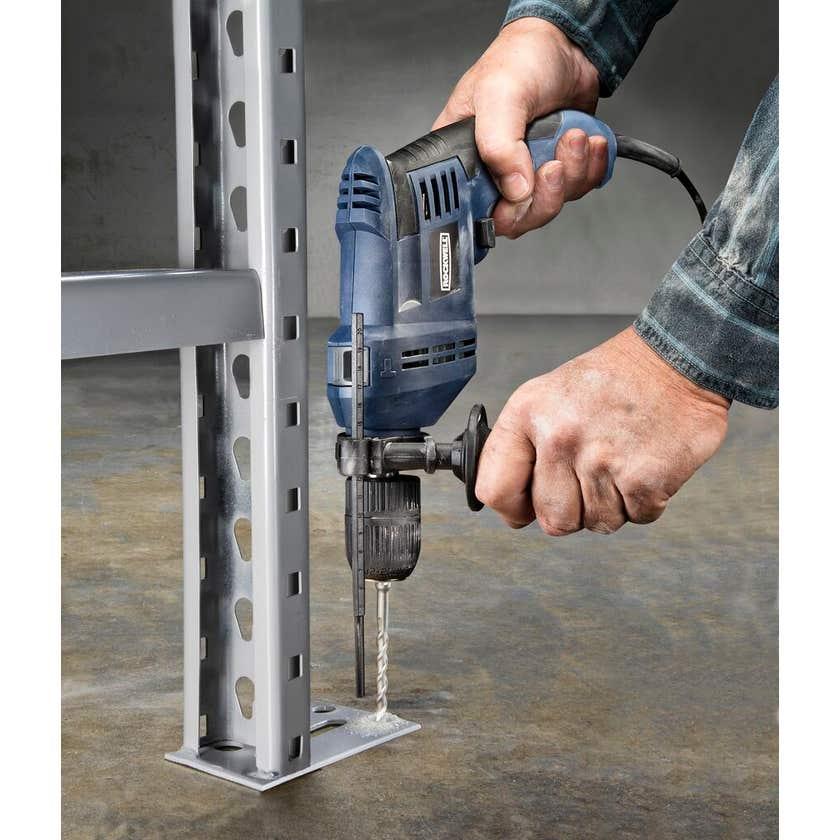 Rockwell 600W Hammer Drill Driver