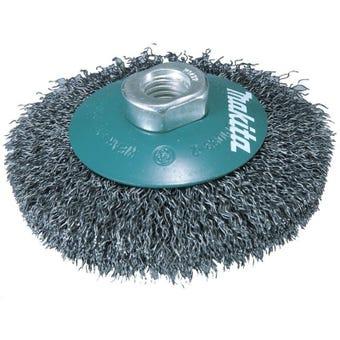 Makita Bevel Crimped Brush 115mm