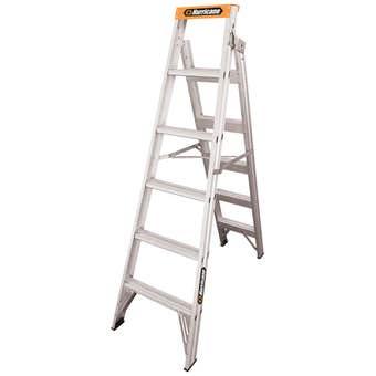Hurricane™ Dual Punch™ 1.8 - 3.2m Dual Purpose Ladder 150kg Industrial