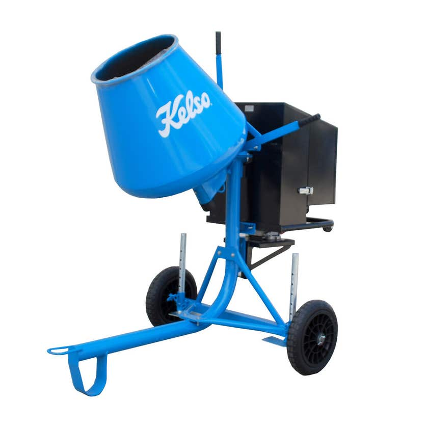 Kelso 3.5CF 100L Petrol Cement Mixer