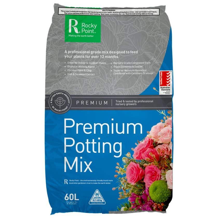 Rocky Point Premium Potting Mix 60L