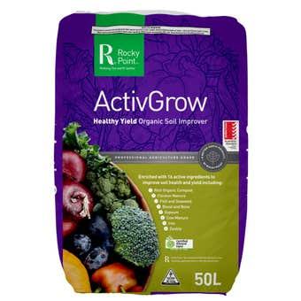 Rocky Point ActivGrow Soil Improver 50L
