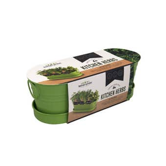 Kitchen Herbs Windowsill Tin