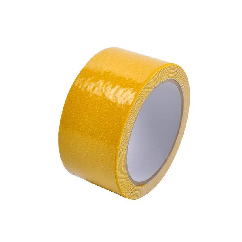 DTA Gecko Grip Antislip Tape Yellow 60 Grit 50mm x 3.1m