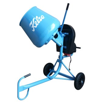 Kelso Cement Mixer Electric 65 Litre