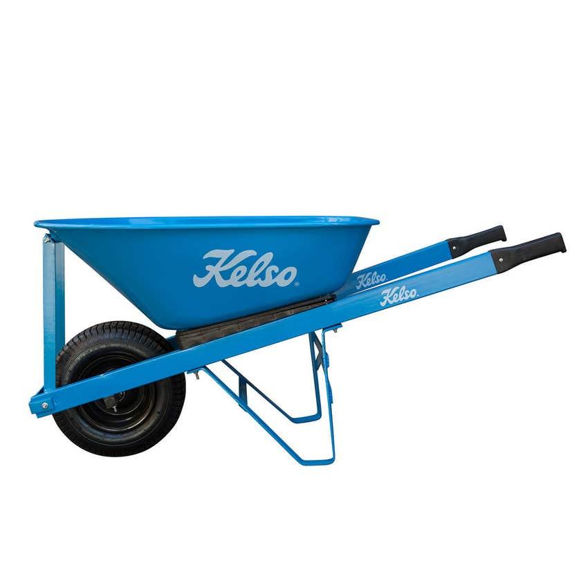 Kelso Tradesman Tray Wheelbarrow Steel 100L