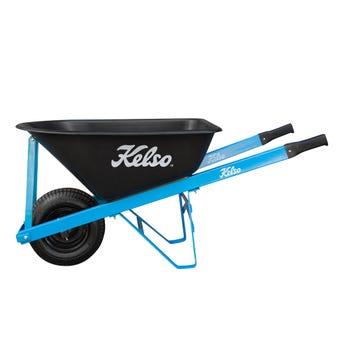 """Kelso Tradesman Poly Tray Wheelbarrow 100L 6.5"""""""