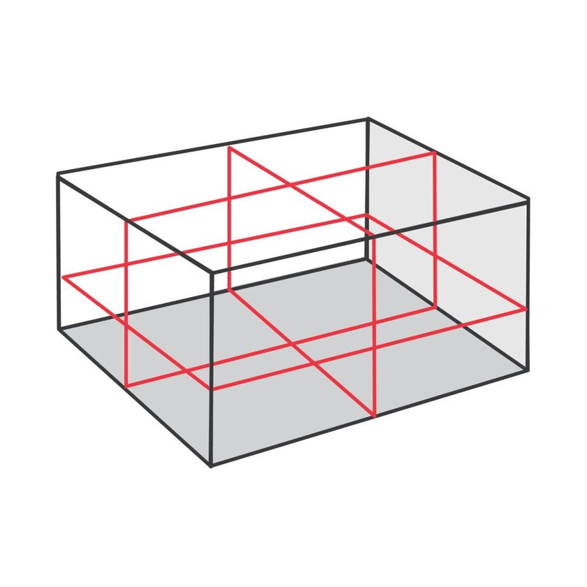 Centre Point 3D Multi-line Laser