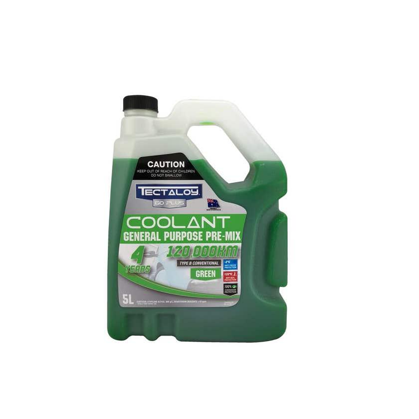 Tectaloy 60 Plus General Purpose Green Coolant 5L
