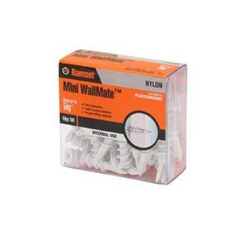 Ramset WallMate Nylon Mini 5kg - 50 Pack