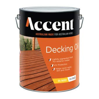 Accent Oil Based Decking Oil Natural 10L