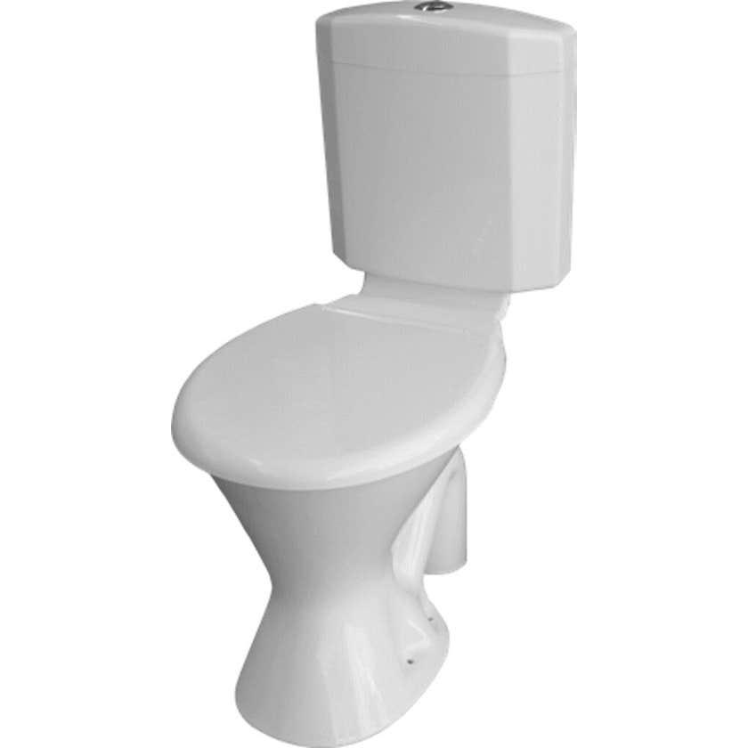 Marbletrend Ultra Slim Plastic Toilet Suite S Trap