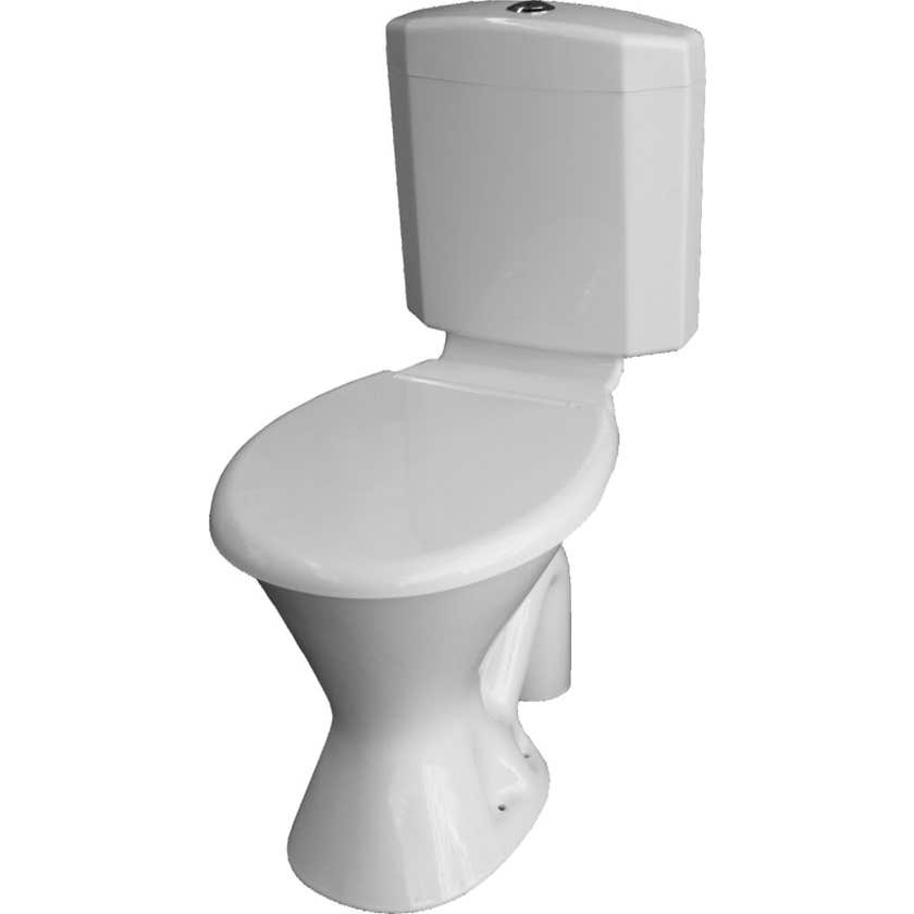 Johnson Suisse Ultra Slim Toilet Suite Plastic Link P Trap