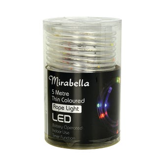 Mirabella Christmas Rope Light Multi Colour LED 5M