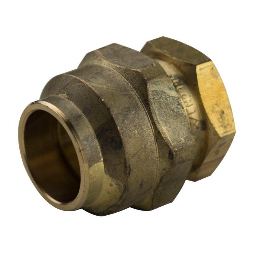 Brasshards Union Flare Compression Brass 20mm x 20mm