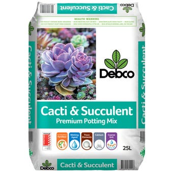 Debco Cacti & Succulent Superior Potting Mix 25L