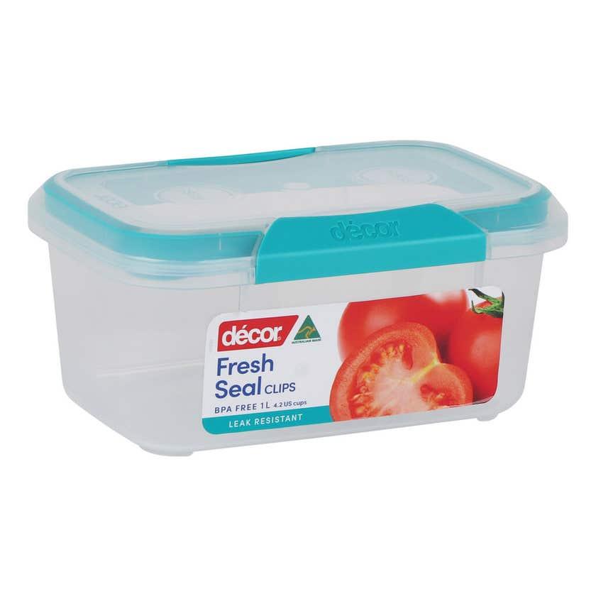 Décor Container Oblong Match-ups Clips 1L